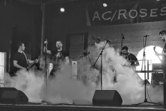 025 AC/Roses im Nebel_ Foto: Uwe Lestikow